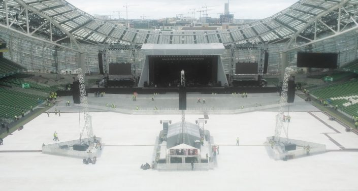 Space Roof Stage, Phil Collins, Dublin
